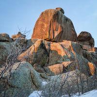 granite rock formation in Vedauwoo Recreation Area