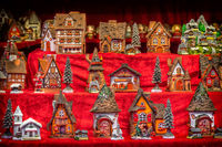 toy houses for childrens in vintage toy store christmas shop showcase