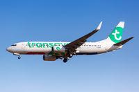 Transavia France Boeing 737-800 Flugzeug Flughafen Athen in Griechenland