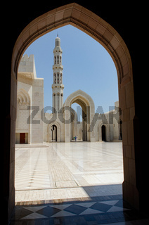 Sultan Qaboos Grand Mosque, Muscat, Oman