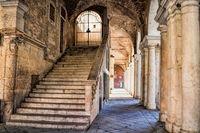 vicenza, italy - 19.03.2019 - palazzo della ragione