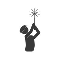 Chimney Sweeper Icon Vector