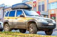 Vehicle of Liza Alert team