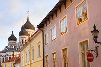 Alexander Nevsky Cathedral street Talinn
