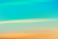 Sunset sunrise sky nature blurred background horizontal wide realistic vector illustration.