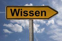 Wegweiser Wissen | signpost Wissen