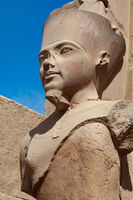 Pharaonic portrait, Luxor, Egypt