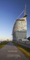 Atlantic Hotel Sail City, Bremerhaven, Bremen, Germany, Europe