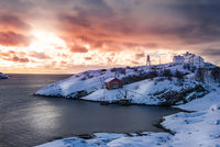Lofoten Winter Sunset
