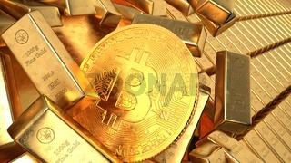 Gold Bars Bitcoin