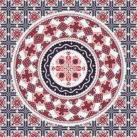 Romanian traditional pattern 96
