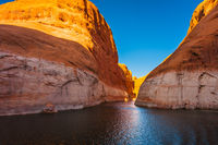 Antelope Canyon in reservoir Lake Powell