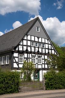 Oberkirchen village, Schmallenberg, Sauerland, Germany