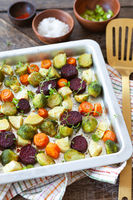 Roasted oven vegetables