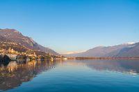 Nice Iseo lake panorama