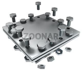 Metal Plate Piece