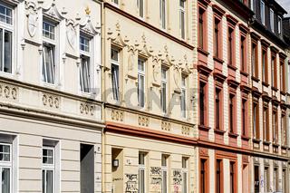 Fassaden von Gründerzeithäusern