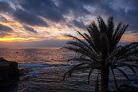 Ocean view in Santo Antao island, Cape Verde