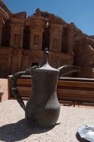 Arabic coffee pot in Petra