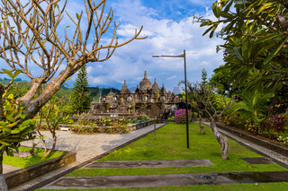 Buddhist temple of Banjar - island Bali Indonesia