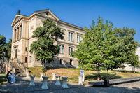 halle saale, deutschland - 17.06.2019 - robertinum der martin-luther-universität