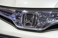 Logo von Honda auf einem Auto