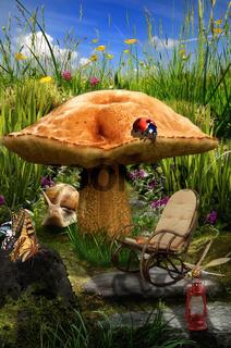 fairy house (mushroom)