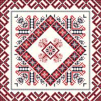 Romanian traditional pattern 80