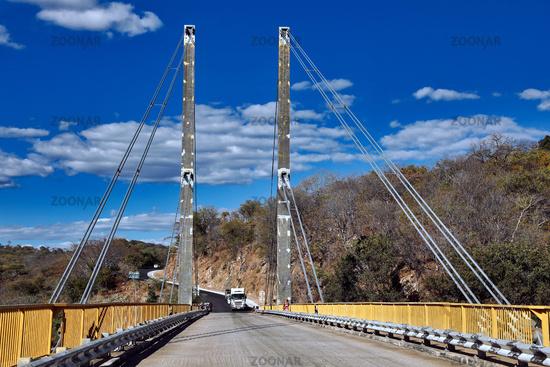 Luangwa bridge, on the streets of Zambia   Luangwa bridge, on the streets of Zambia