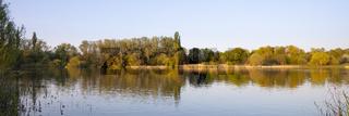 Naturschutzgebiet Lanstroper See im Fruehling