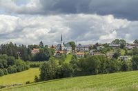 Idyllic Bavarian Forest scenery