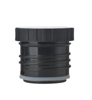 Black plastic thermos flask stopper