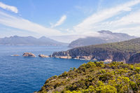 Carp Bay and The Hazards - Freycinet National Park