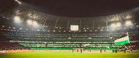 Hannover 96 Fans zeigen große Choreografie