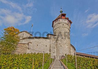 Munot, Stadt und Kanton Schaffhausen, Schweiz