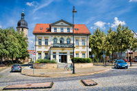 naumburg, deutschland - 18.06.2019 - idylle in der altstadt