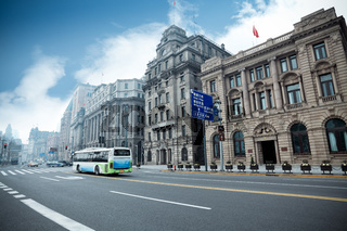 historical buildings in shanghai