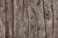 Natural rustic grey barn wood wall. Wall texture background pattern.