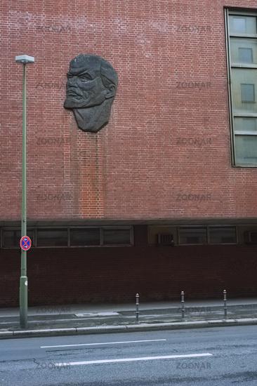 Lenin Relief, Behrenstrasse, Berlin, Germany