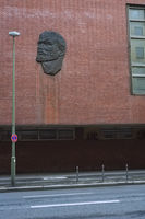 Lenin Relief, Behrenstrasse, Berlin, Germany