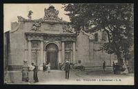 Toulon vintage architecture
