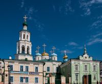 Church of the Intercession and Belfry of the Nicholas Cathedral