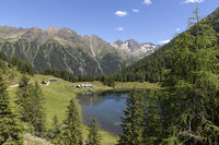 Duisizkarsee lake in Styria, Austria, in summer
