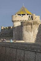 Saint Malo fortress tower