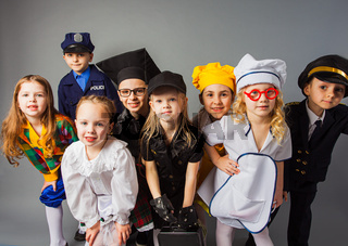 The younger generation is preparing to become professionals