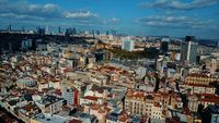 Cityscape Istanbul, Turkey. Photo from the bird's-eye view