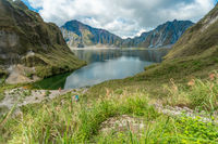Mount Pinatubo in in the Philippines on the northern island of Luzon
