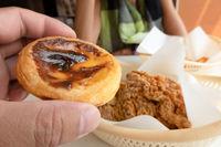 egg tarts in fast food