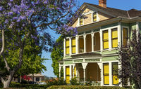 Historic house in San Diego.