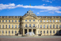 new castle in Stuttgart south Germany